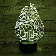 Plants Vs Zombies Night Light Led 3D Illusion Lamp