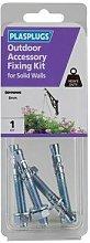 Plasplugs KOD108 Outdoor Accessory Fixing Kit for
