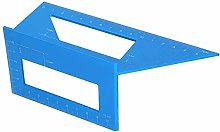 Plastic 3D Mitre Angle Ruler, Woodworking