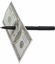 Plastic Ballpoint Pen Magic Paper Money