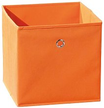 Plastic Basket Lily Manor Colour: Orange