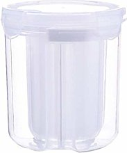 Plastic Canister with Lid Airtight Food Storage