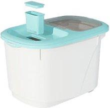 Plastic Cereal Dispenser Storage Box 10KG/22lb