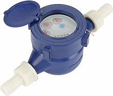 Plastic Cold Water Meter,DN15 Garden Home Cold