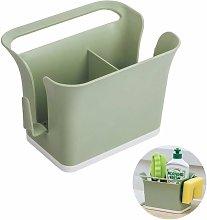 Plastic Cutlery Storage Box Caddy Bin Organizer,