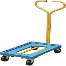 Plastic Dolly With Handle Blue 365127 - SBY27610