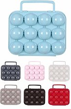 Plastic Egg Box With Handle Egg Tray 12 Eggs