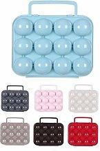 Plastic Egg Box With Handle Egg Tray 12 Eggs