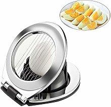 Plastic Egg Slicer, Egg Slicer for Boiled Eggs,