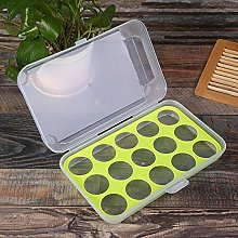Plastic Egg Storage Box Eggs Holder Portable Food