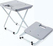 Plastic Folding Step Stool, Portable Lightweight