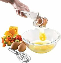 Plastic Handheld Egg Cracker Separator Egg Cutter