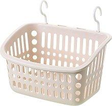 Plastic Hanging Shower Basket With Hook For