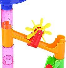 Plastic House Building Blocks Toys DIY Maze Balls