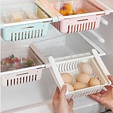 Plastic Kitchen Refrigerator Fridge Storage Rack