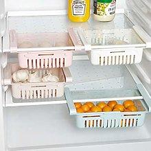 Plastic Kitchen Refrigerator Fridge Storage Rack,