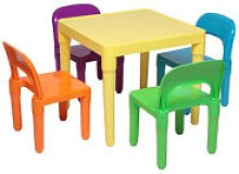 Plastic Play Activity Children Kids Table and