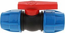 Plastic Quick Connect Straight Stop Valve - DN15