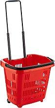 Plastic Shopping Trolley Basket Supermarket Retail