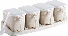 Plastic Spice Jar - Seasoning Storage Container