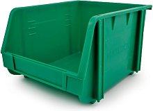Plastic Storage Bin, Green - Matlock