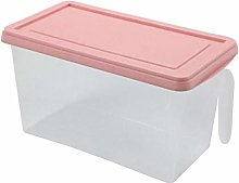 Plastic Storage Box, Square Handle Food Storage