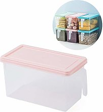 Plastic Storage Containers Square Handle Food