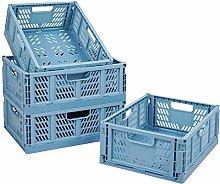 Plastic Storage Crate Container Storage Basket