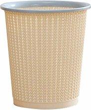 Plastic Trash Can Garbage Storage Bin Trash Basket