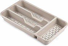 PLASTIFIC Large CUTLERY TRAY Flatware Organiser