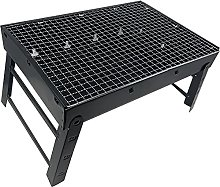 PLASTIFIC Long Handle Bbq Grill, Portable and