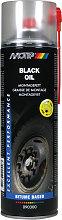 PlastiKote 090300 Pro Black Oil Spray 500ml