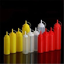 Plate Dish Tableware Plastic Sauce Bottle Mouth