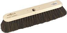 Platform Medium Soft Broom Head (One Size) (Brown)