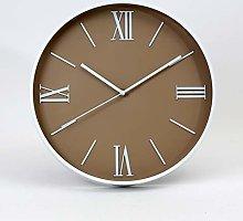 Platinet July Wall Clock, Brown, 29.5x4.3x29.5cm