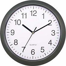 Platinet Platinum Wall Clock Rainbow Grey, Gray,