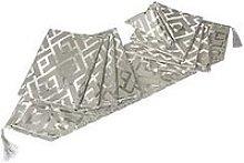 Platinum Glitz Geo 9-Piece Table Linen Set