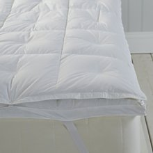 Platinum Goose Down Topper, No Colour, Double