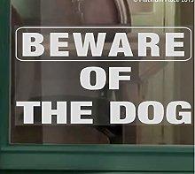 Platinum Place 1 x Beware of the Dog WINDOW