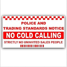 Platinum Place 1 x SMALL No Cold Callers,Salesman