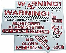 Platinum Place 4 x FULL COLOUR Monitored Alarm