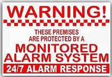 Platinum Place 6 x Monitored Alarm System