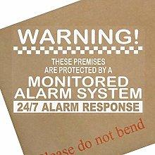 Platinum Place 6 x Monitored Alarm System Window