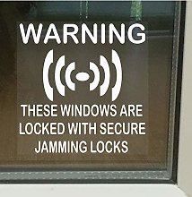 Platinum Place 6 x Secure Jamming Locks Window