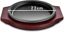 Platter Cast Iron Steak Skillet Serving Plate