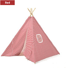 Play Tent Indoor Cubby House Playhouse red