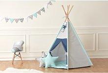 Play Tent KraftKids Colour: Light blue, Finish: