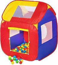 Play tent with 200 balls pop up tent - kids pop up
