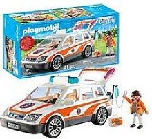 Playmobil 70050 City Life Hospital Emergency Car