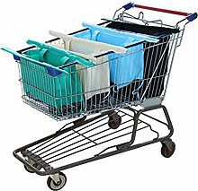 (Pleasant) - Reusable Shopping Cart Bags and